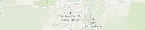 Karte Wellnesshotel BollAnts Bad Sobernheim