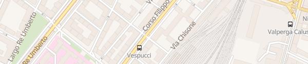 Karte Corso Filippo Turati Torino