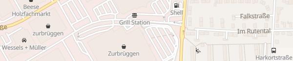 Karte Zurbrüggen Wohn-Zentrum Unna