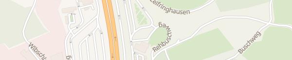 Karte Sauerland Ost Lüdenscheid