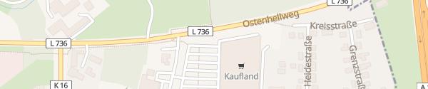 Karte Kaufland Bergkamen-Rünthe Bergkamen