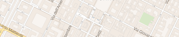 Karte Piazza C.L.N. Torino