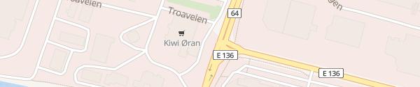 Karte Shell Åndalsnes