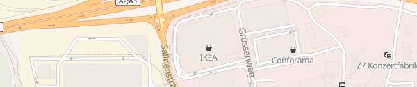 Karte IKEA Pratteln