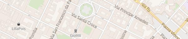 Karte NH Collection Torino Piazza Carlina Torino