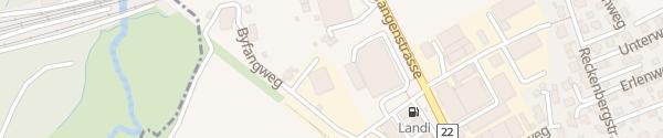 Karte LANDI Herzogenbuchsee
