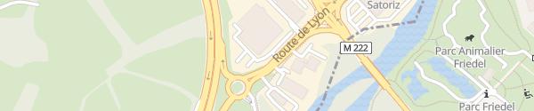 Karte Volkswagen Illkirch Polygone Geispolsheim