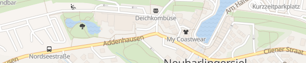 Karte Touristeninformation Neuharlingersiel