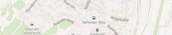 Karte EnBW Ladesäule Endingen am Kaiserstuhl