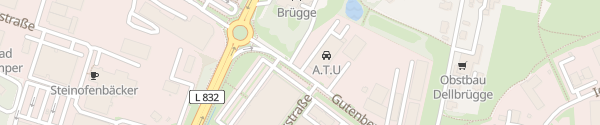 Karte A.T.U Ibbenbüren