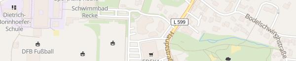 Karte Gemeindeverwaltung Recke