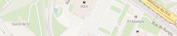 Karte IKEA Strasbourg