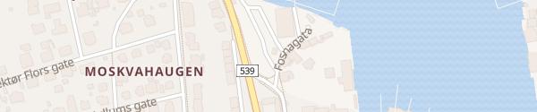 Karte Gassverktomta Kristiansund