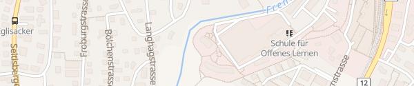 Karte Frenken-Garten Liestal