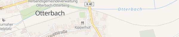 Karte Hauptstraße Otterbach