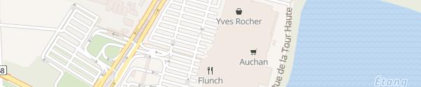 Karte Auchan Illkirch-Graffenstaden
