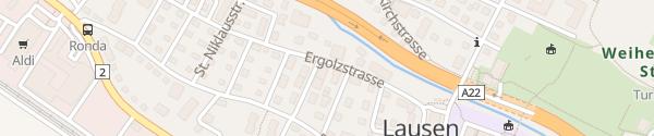 Karte Elektro Handschin AG Lausen