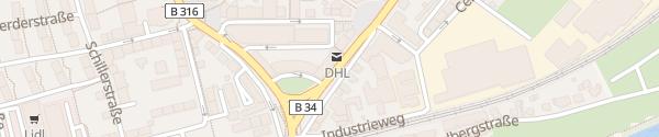 Karte Hochrhein Center Rheinfelden
