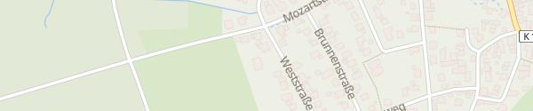Karte Weststraße Montabaur
