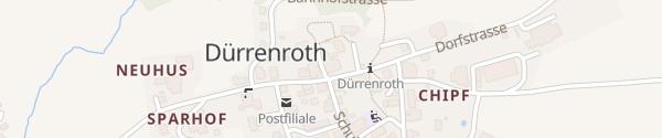 Karte Hotel Bären Dürrenroth