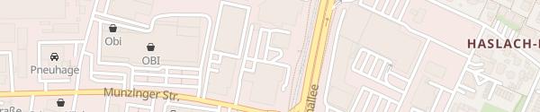 Karte Südwest-Auto Freiburg im Breisgau