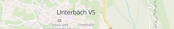 Karte Parkplatz LRU Unterbäch
