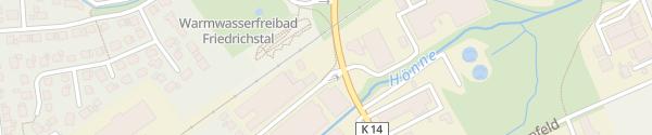 Karte Schniewindt Parkplatz Neuenrade
