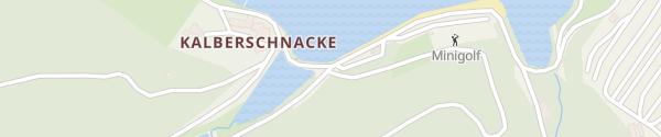 Karte Wanderparkplatz Kalberschnacke Drolshagen