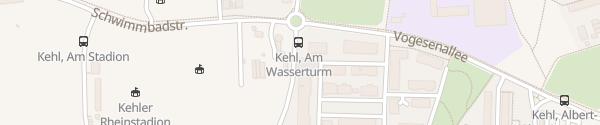 Karte Flärenplatz Kehl