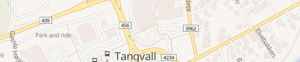 Karte Coop Extra Tangvall