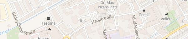 Karte Stadthalle Schopfheim