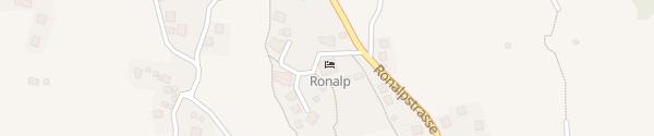 Karte Hotel/Restaurant Ronalp Bürchen