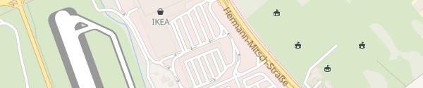 Karte IKEA Freiburg