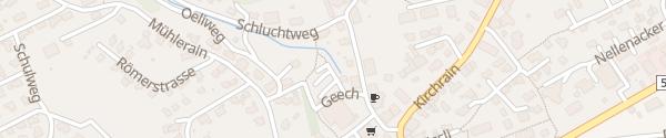 Karte Evite Hägendorf