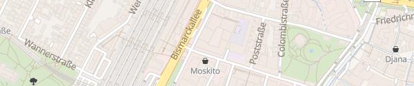 Karte Tiefgarage Volksbank-St. Ursula Freiburg im Breisgau