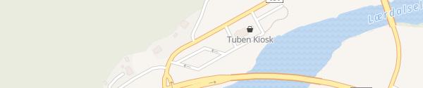 Karte Fortum Schnelllader Borgund