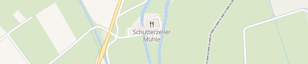 Karte E-Bike Ladesäule Schutterzeller Mühle Neuried