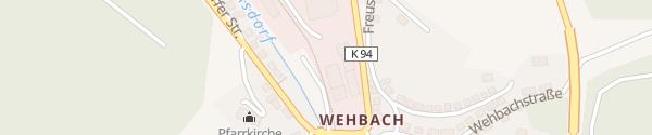 Karte Park&Charge Ladepunkt Kirchen