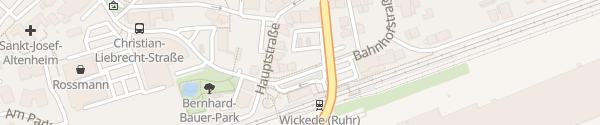Karte Bahnhof Wickede (Ruhr)