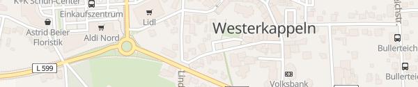 Karte innogy Ladesäule Westerkappeln