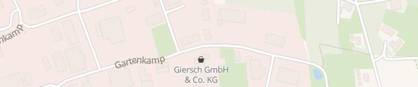 Karte HC InnoTech GmbH Westerkappeln