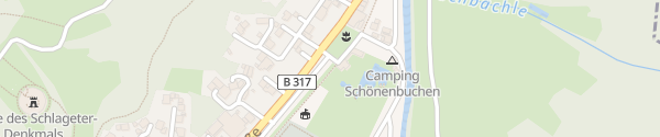 Karte Schwimmbad Schönau