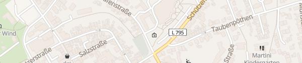 Karte Kundenzentrum Stadtwerke Werl