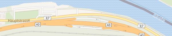 Karte Rastplatz Mumpf Nord Mumpf
