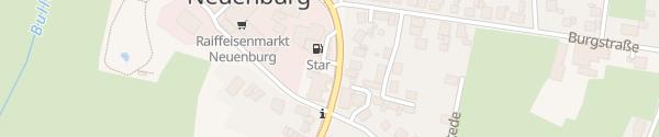 Karte Westerstederstraße Neuenburg