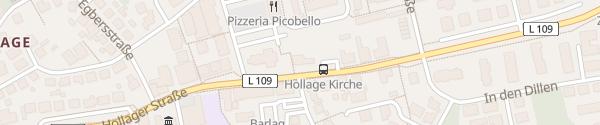 Karte Pfarrbüro der St. Josefs Gemeinde Wallenhorst