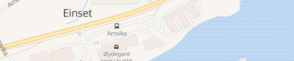 Karte Tesla Supercharger Øydegard