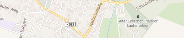 Karte Rathaus Laufenselden Heidenrod