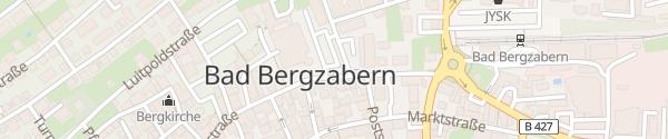 Karte Schlossplatz Bad Bergzabern