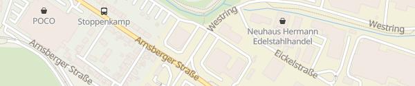 Karte DC Ladesäule Autocenter C. Schulte Arnsberg